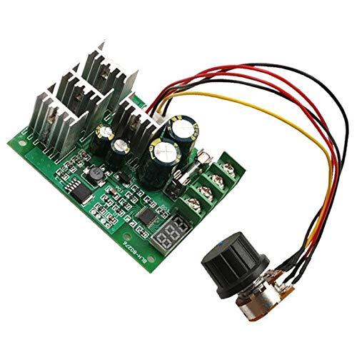 Katigan 6-60V 30A Regulador de Velocidad Del Motor Digital LED Ajustable PWM Controlador de Velocidad Del Motor de CC Regulador Del Control de Velocidad Del Motor 12V 24V 36V
