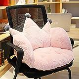 Silla Lazy Bean Bag Sofá sin Puff Fiesta de Camping para niños Taburete con cojín Puff de Juego Dormitorio Suelo de Tatami (Color: Rosa)