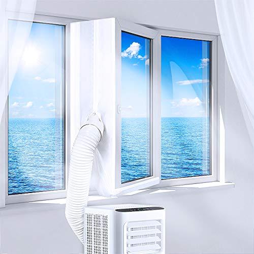 KlimTek Mobiles Kimagerät mit Abluftschlauch, 3 in 1 Mobiles Klimagerät mit Kühlen, Ventilator & Entfeuchter-7.000 BTU/h, für Räume bis 60 m3 (25 m2) [Energieklasse A]