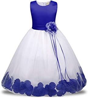 Girls Dress Petal Flower Girl Dress Princess Dress Skirt Flower Tutu