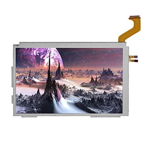 Annadue Ersatz LCD Bildschirm für Nintendo 3DS, Oberes LCD Display für Nintendo 3DS XL Systemspiele, Gute Kompressionsbeständigkeit, Hohe Zuverlässigkeit