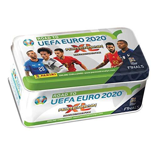 Sammelkarten Road to Euro 2020, Tin Dose mit 8 Boostern und 2 limitierten Karten