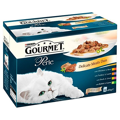 Purina Gourmet Perle Delicate Meats Duo - Pouch (12X85G)