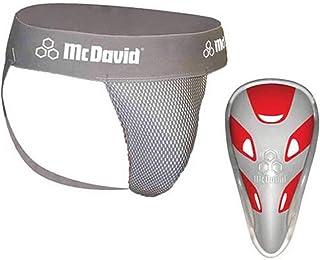 McDavid Classic Logo 3300 CF Athletic Supporter W/Flexcup Mesh Gray Medium