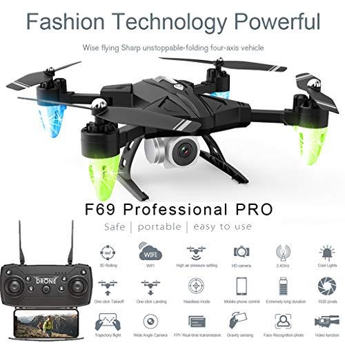Hengzi F69 Pro 2.4G 5MP 1080P Weitwinkel WiFi FPV HD Kamera Faltbare RC Drone Quadrocopt