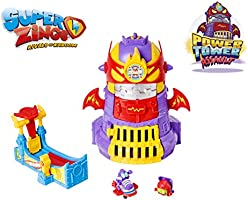 SuperZings - Power Tower Assault Adventure 3 (PSZSP314IN01) con 2 Figuras y Accesorios