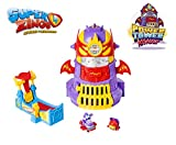 Superzings - Power Tower Assault Adventure 3, con 2 exclusivas figuras SuperZings , color/modelo surtido