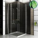 Completo cabinas de ducha Ducha Mampara 80x 80x 195Incluye cristal los arañazos entrega...