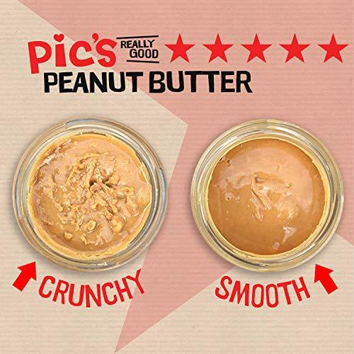 Pic'sPeanutButterピックスピーナッツバターあらびきクランチ195g