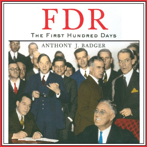 FDR audiobook cover art