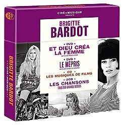 Brigitte Bardot Cine Musique (3 CD + 2 DVD)