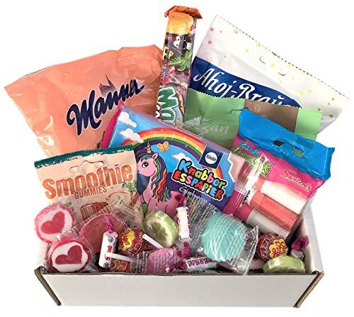 Große Süßigkeiten Box Vegan mit Fruchtgummi, Lutscher uvm., Piñata Füllung, Party Mix, Kindergeburtstag (1 x 1 kg)