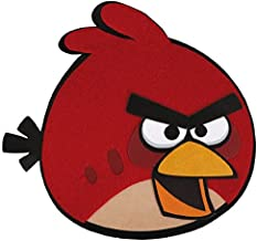 amscan Angry Birds Adventure Birthday Party Postcard Invitations (8 Piece), Red, 6 1/4