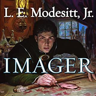 Imager     The First Book of the Imager Portfolio              By:                                                                                                                                 L. E. Modesitt Jr.                               Narrated by:                                                                                                                                 William Dufris                      Length: 17 hrs and 54 mins     1,121 ratings     Overall 4.2