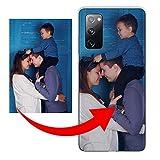 KX-Mobile Personalisierte Hülle für Samsung Galaxy S3 / S3 Neo Handyhülle aus Silikon/TPU mit deinem eigenen Motiv - Dein eigenes Bild Selfie Design Foto