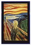 Close Up Edvard Munch The Scream Poster Der Schrei (94x63,5