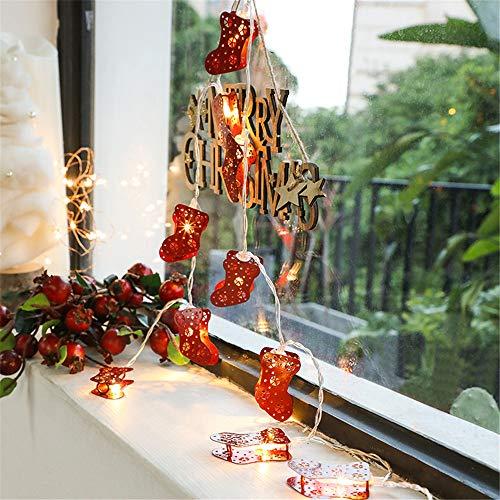 Weihnachtsstiefel Lichterketten, Lichterketten, Dekorative Weihnachtsbeleuchtung Für Hochzeiten, Geburtstage, Innen- Und Außenbereiche
