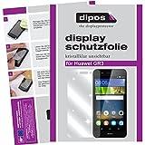 dipos I 2X Schutzfolie klar kompatibel mit Huawei GR3 Folie Bildschirmschutzfolie