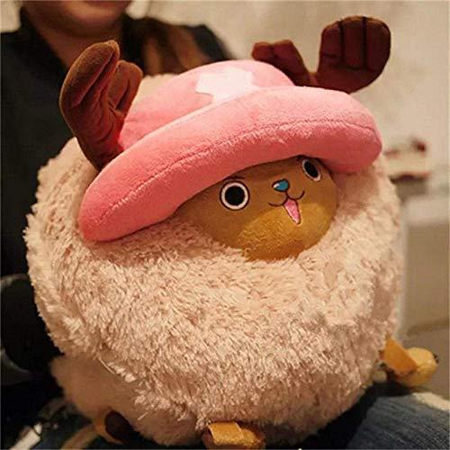 GHJU Homedecor Anime Cartoon Plüsch Spielzeug-Puppen Tony Chopper Spielzeug for Kinder Cartoon-Geburtstags-Weihnachten Kinder Geschenk 35Cm-35Cm_ Qingqiao