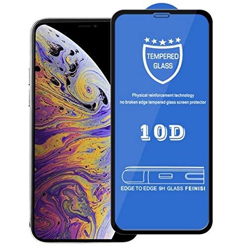 Nieuwe Tangyong CL 9H 10D Volledig Scherm Gehard Glas Screen Protector voor iPhone Xs Max/XI Max (2019)