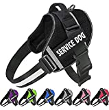 JSXD Dog Harness,No-Pull Service Dog Harness with Handle Adjustable...