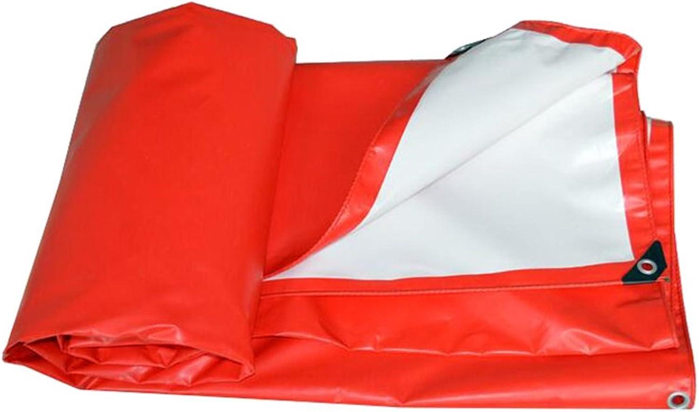 LQq-abdeckplanen Rotes wasserdichtes Hochleistungsplane-Gewebe mit hoher Dichte Dichte Dichte gesponnenes Polyester und doppeltes lamelliertes, UVBesteändiges, Stärke 0.45mm für Camping Outdoor Reisen B07NY24F3M  Günstigen Preis 8d0e96
