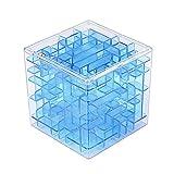 Greatangle El Primer Aula El Laberinto El Cerebro de los niños El Cubo mágico Creativo El Laberinto Tridimensional Bola Azul Transparente