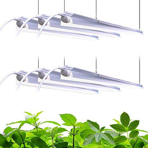 Barrina Plant Grow Light, 252W(6 x 42W, 1400W Equivalent), Full Spectrum,...