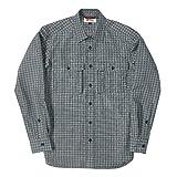 [フォックスファイヤー] 【吸汗速乾】 TS スモールチェック シャツ メンズ 5212971 グレー 日本 L (日本サイズL相当)