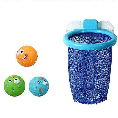 Kingken Funny bébé Bain Spray eau basket-ball vue jouet de salle de bain accessoire pour piscine