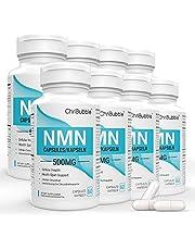 NMN-supplement met maximale sterkte | 500 mg per capsule | Krachtige boost NAD + -niveaus ter ondersteuning van veroudering en mentale prestaties | NAD-extensie | 60 capsules nicotinamide-mononucleotide