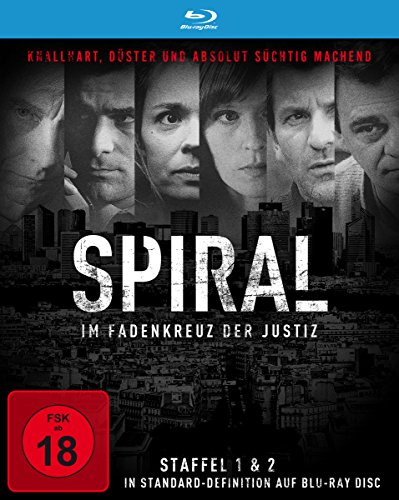 Spiral - Die kompletten Staffeln 1+2 [Blu-ray]