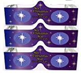 3D Christmas Glasses - Holiday Specs - Transform Christmas Lights Into Magical Images - Christmas Star - 3 Pairs by 3Dstereo Holiday Eyes Glasses