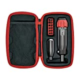 Real Avid Gunsmithing Torque Wrench Kit | All in One Torq Driver Tool with Screwdriver Bit Set & Accurate 1 Inch/Pound Setting for Precision Scope Mounting. Premium KIT.