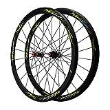 ZCXBHD Fibre Carbone Vélo Route Paire De Roues 700C 40mm 7/8/9/10/11 Vitesse C/V Frein Mat...