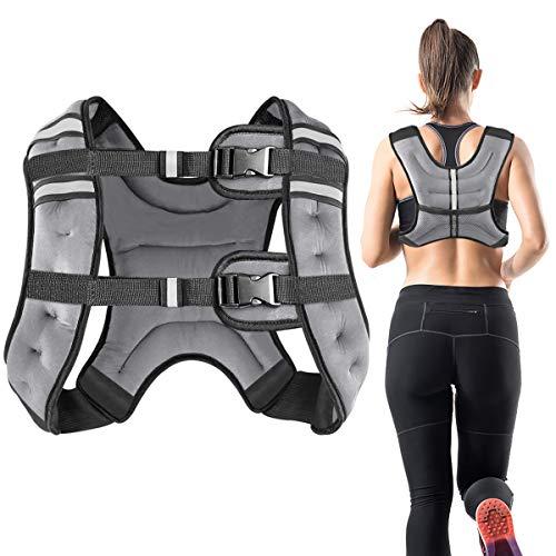 Vailge Gewichtsweste, 2kg/5kg/10kg Laufweste, Training...