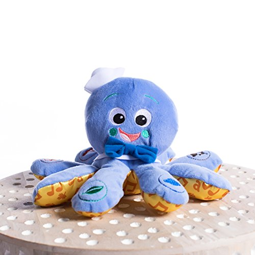 """toys for a 4 month old Baby Einstein Octoplush Musical Octopus Stuffed Animal Plush Toy, Age 3 Month+, Blue, 11"""""""