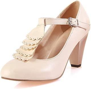 BalaMasa Womens APL11626 Pu Heels