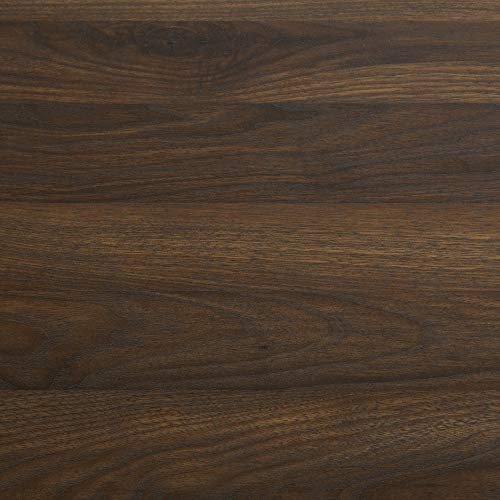 WE Furniture 5 Shelf Entryway Bench Hall Tree Storage Coat Rack, 72 Inch, Walnut Brown