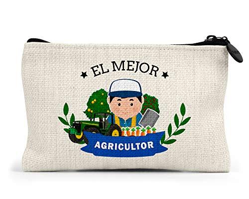 Monedero el Mejor Agricultor del Mundo Regalo Original Agricultores Personalizado