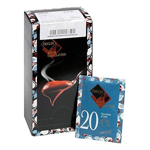 Trinkschokolade Pulver Eraclea Vollmilch / Nr. 20 (Neu: Nr. 35) - 15 Einzelportionen, 480 g
