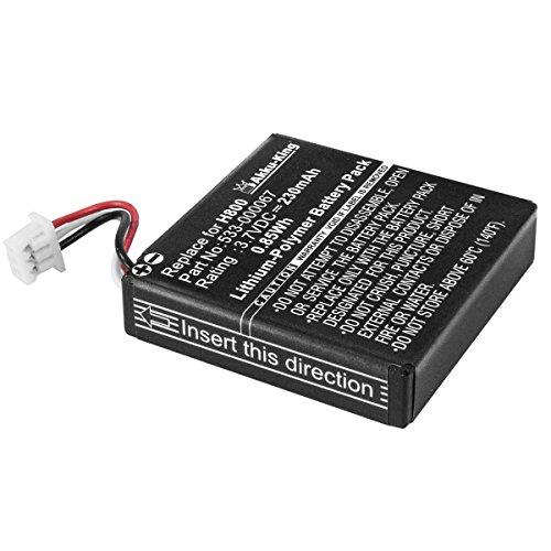 Akku-King Akku kompatibel mit Logitech H800 - ersetzt 533-000067, AHB472625PST, L/N 1109 - Li-Polymer 230mAh