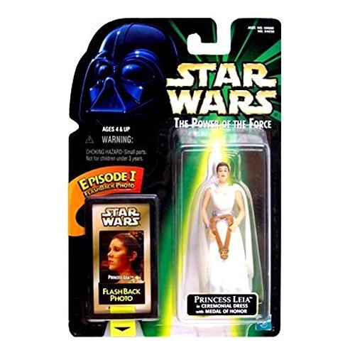 Star Wars POTF Figura de acción con Flashback Foto–Princesa Leia en ceremoni...