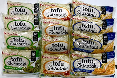 House Foods - 12 Bag Variety Pack Tofu Shirataki Noodles