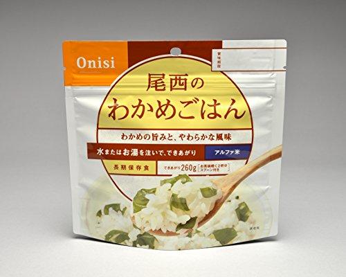 防災非常食アルファ米尾西のごはんシリーズDW(和風・洋風組合せ、保存水付)12食セット