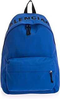 Luxury Fashion | Balenciaga Mens 507460HPG1X4270 Blue Backpack | Fall Winter 19