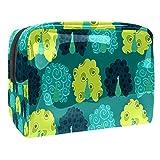 Multi color tiburón 18.5x7.5x13cm/7.3x3x5.1in bolsa de lavado cosmético organizador bolsa multifuncional para las mujeres, Multi-2, 18.5x7.5x13cm/7.3x3x5.1in,
