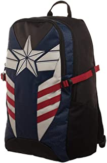 Captain America Comic Book Superhero Built Up Backpack