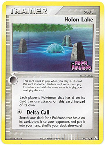 Pokemon - Holon Lake (87) - EX Holon Phantoms - Reverse Holo