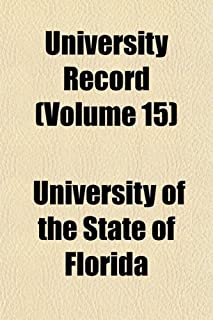 University Record Volume 5